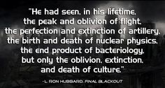 Final Blackout, NYT Bestselling Military Sci Fi Novel by L. Sci Fi Authors, Sci Fi Novels, L Ron Hubbard, Birth And Death, Classic Sci Fi, Author Quotes, Military, Awesome, Inspiration