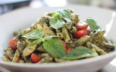 Siba's Chicken Pesto Pasta