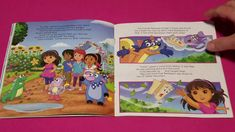 Read Along With Aunt Neny Dora And Friends Boots And Dora Forever