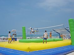 Inflatable volleyball looks sooooooooo fun!!!!!!!!!!!!!!