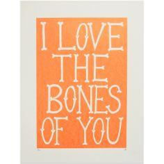 Bones - Fluro