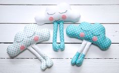 Cloud Baby Free Sewing Pattern & Tutorial. Make your own cute Cloud Baby Softie by Miss Daisy Patterns.