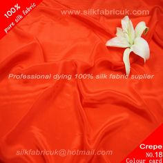 12mm silk crepe de chine fabric-rust red  http://www.silkfabricuk.com/12mm-silk-crepe-de-chine-fabricrust-red-p-347.html