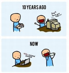 haha so true! I use to love getting emails not i love getting snail mail! <3PenyaDS