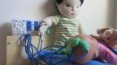 MRI, EEG and radiotherapy: the benefits of medical play. Here are some medical play ideas...