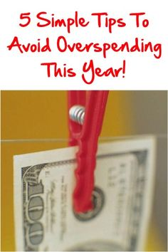 5 Simple Tips to Help You Avoid Overspending This Year! ~ at TheFrugalGirls.com #finance #money #thefrugalgirls