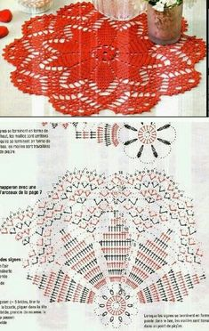Not Your Grandma's Doily – Spectacular Suede Crochet Doily – Free Pattern Crochet Doily Diagram, Crochet Doily Patterns, Crochet Mandala, Crochet Chart, Thread Crochet, Crochet Motif, Crochet Flowers, Crochet Dollies, Crochet Potholders