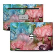 Dell XPS 13 Laptop Skin - Poppy Garden Dell Xps, Laptop Accessories, Laptop Skin, Poppies, Gifts, Garden, Presents, Garten, Lawn And Garden