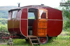 1930's caravan in Appletreewick