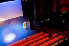 Bovenaanzicht Theaterzaal