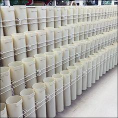 Plastic Flower Vase Inline Display Retail Fixtures, Store Fixtures, Plastic Flowers, Quiver, Store Displays, Inline, Visual Merchandising, Display Ideas, Flower Vases