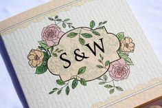 Summer Vintage Wedding Invitation By Paper Delights www.weddingstationery.co.uk