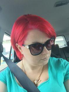 LOVE my red hair!!