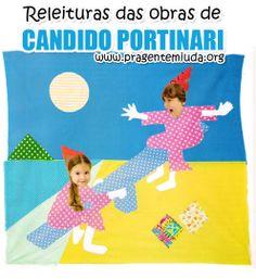 plano de aula para educação infantil com releituras de obras de Cândido Portinari