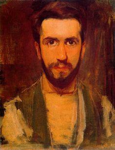 Piet Mondrian 1900 Self Portrait