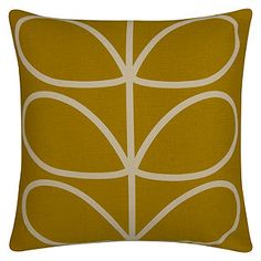 Yellow | Cushions | John Lewis