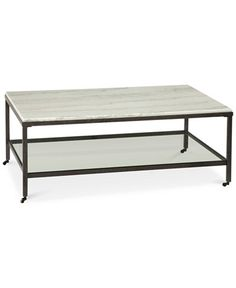 Stratus Rectangle Coffee Table, Only at Macy's