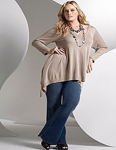 Love this look from Lane Bryant for fall