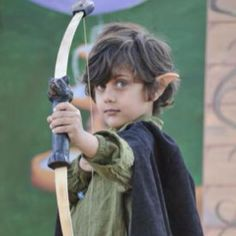My grandson some time ago at a Renaissance Fair