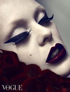 PhotoVogue - Vogue.it  Photographer: Desiree Mattsson, Model: Jeanette Mathisen @ Team Models, Make-Up & Styling: Sølvi Strifeldt