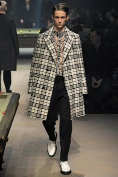 Carven Fall 2014 Menswear - Collection - Gallery - Look 1 - Style.com