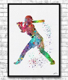 Weekend Sale 20% OFF Special Offer Set of 3 Baseball by ArtsPrint