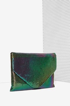 Clutchin' Day and Night Envelope Bag - Bags + Backpacks