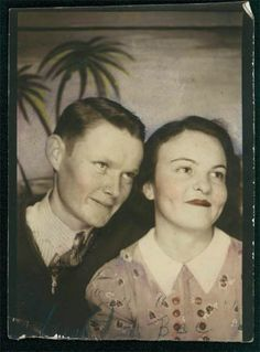 ...charming photobooth photo in the collection of clancysclassics (Marianne)