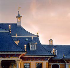 Schloss Pillnitz - Mansarddach (Fotograf: Torsten Becker)