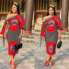 Magnificent And Stunning Collection of African Fashion Styles For African QueenLatest Ankara Styles and Aso Ebi Styles 2020 African Dress Patterns, African Print Dresses, African Print Fashion, African Prints, African Clothes, Africa Fashion, Ankara Styles For Women, Beautiful Ankara Styles, African Attire