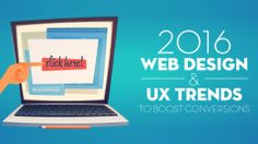 Infográfico: Tendências 2016 do Web Design & UX para aumentar suas conversões