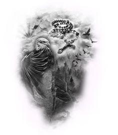 Jay Z Basketball Team Brooklyn Dope Tattoos, Body Art Tattoos, Hand Tattoos, Tattoos For Guys, Maori Tattoos, Angel Tattoo Designs, Tattoo Sleeve Designs, Tattoo Designs Men, Clock Tattoo Sleeve