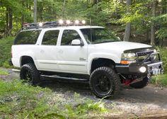 "Képtalálat a következőre: ""suburban"" Lifted Chevy Trucks, Gm Trucks, Chevrolet Trucks, Yukon Truck, Chevy Tahoe Z71, Obs Truck, Chevy Trailblazer, Overland Truck, Jeep Suv"