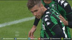 Filmato su football soccer goal gol calcio serie a sassuolo ricci esultanza federico ricci via diggita #SerieA