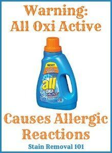 All Oxi Active Laundry Detergent Reviews Experiences Laundry