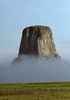 Devils Tower, Wyoming, United States :