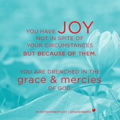 Check out this blog post: When Your Joy Runs Dry - http://margaretfeinberg.com/joy-happiness/ #FightBackWithJoy