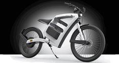 Moto eléctrica con batería extraible.