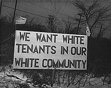 """""""We want white tenants in our white community, """" Detroit ca. 1943 A riot broke out at the Sojourner Truth homes, a new U. federal housing project, caused by white neighbors' attempt to prevent black tenants from moving in. Trauma, Jim Crow, Culture, African American History, Documentary Film, Civil Rights, Black History, Case Study, The Neighbourhood"""