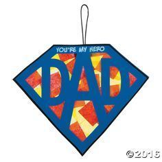 Celebrate a fantastic father with this DIY sign! A wonderful craft kit for kids . Celebrate a fantastic father with this DIY sign! A wonderful craft kit for kids to create a thoughtful Father's Day Dad Crafts, Preschool Crafts, Craft Kits For Kids, Gifts For Kids, Kids Diy, Craft Gifts, Diy Gifts, Diy Father's Day Gifts Easy, Easy Mother's Day Crafts