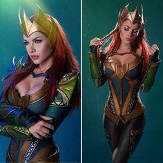 Irine Meier as Mera (Justice League)(Aquaman) Aquaman Costume, Aquaman Cosplay, Dc Cosplay, Cute Cosplay, Amazing Cosplay, Cosplay Outfits, Best Cosplay, Anime Cosplay, Cosplay Girls