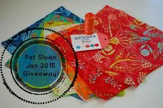 Pat Sloan - Giving away Moda and Aurifil prize to celebrate finishing up a UFO http://blog.patsloan.com/2015/01/pat-sloan-a-giveaway-to-celebrate-my-ufo-busting.html
