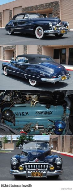 1948 - Buick Roadmaster Convertible.: