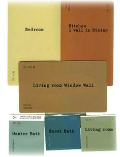 paint color schemes for open floor plans | Roselawnlutheran