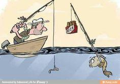 fish vs fisherman :o