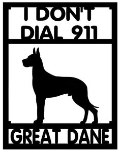 Great Dane...So funny cuz my dane is the most chill dog in the house! It's the minidoxie I would be worried about!