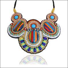 GOA bib necklace