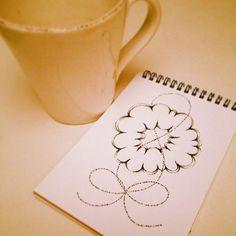 -試し描き スケッチブック、ペン
