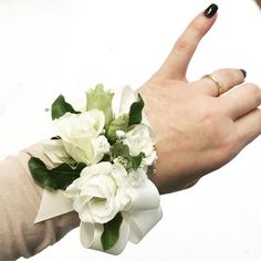 It that time of year again!  Debs and grads corsages from €20 made to order.  #debscorsage #wristcorsage #irishdebs #irishflorist #bloomsdayflowers
