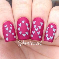 valentine by banicured_  #nail #nails #nailart